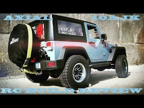 CAMPING WITH COLEMAN | REALISTIC JEEP RUBICON 10AJK |  OVERVIEW
