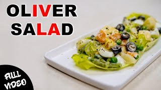 Healthy Salad Recipe for Women | Oliver Salad | 1Min Quick Recipe | Happy Women's Day | Foodies