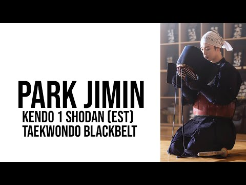 The Underestimated Athleticism of BTS' Park Jimin: Badass Moments - Kendo, Taekwondo Blackbelt