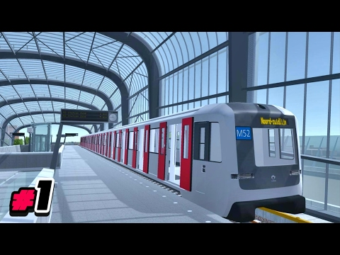 Playing Noord/Zuidlijn, The Game #1 (Amsterdam Metro Sim - North/South Line)