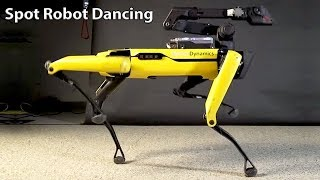 Amazing SpotMini Robot Dancing u0026 Put To The Test For Commercial Usage - Boston Dynamics Updates