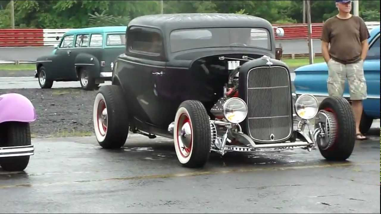 32 FORD COUPE * CRAZY FLATHEAD ENGINE 3-2\'s * OLD SCHOOL HOT ROD ...