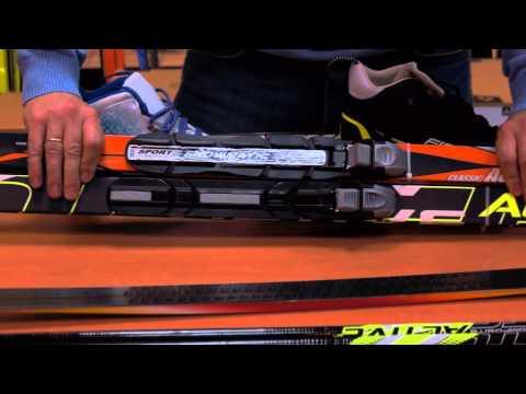 Лыжный комплект STC SNS и NNN с палками и без