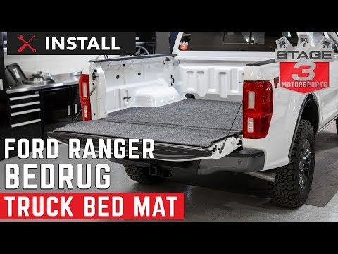 2019 Ranger BedRug XLT Truck Bed Mat (5 Ft. Bed) Install