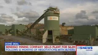 GBM Gold featured on Nine News Western Victoria on 27th July 2017