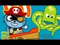 Fun Storytime For Kids - EXPLORE Funny Pirates - Cartoon Games for Kids