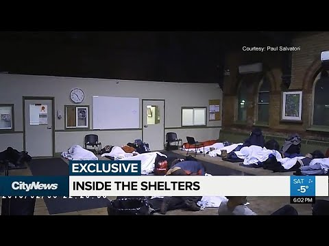 EXCLUSIVE: A Look Inside Toronto's Shelters