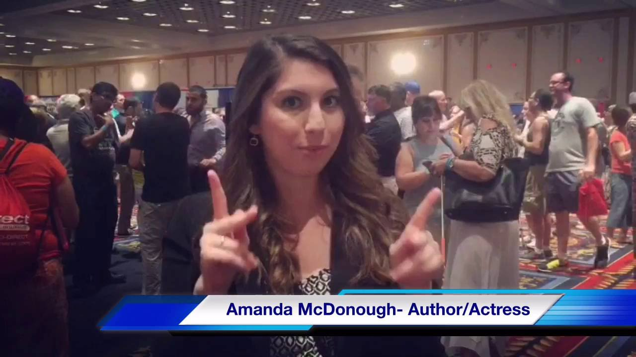 A Peak Inside The Deaf Nation World Expo with Deaf Actress and Author  Amanda McDonough