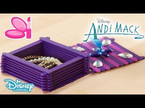Andi Mack | Craft Tutorial DIY: Jewellery Box | Official Disney Channel UK