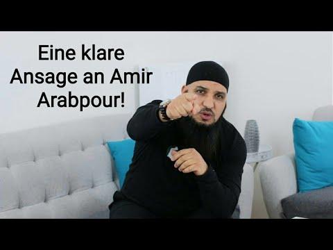 Eine klare Ansage an Amir Arabpour!