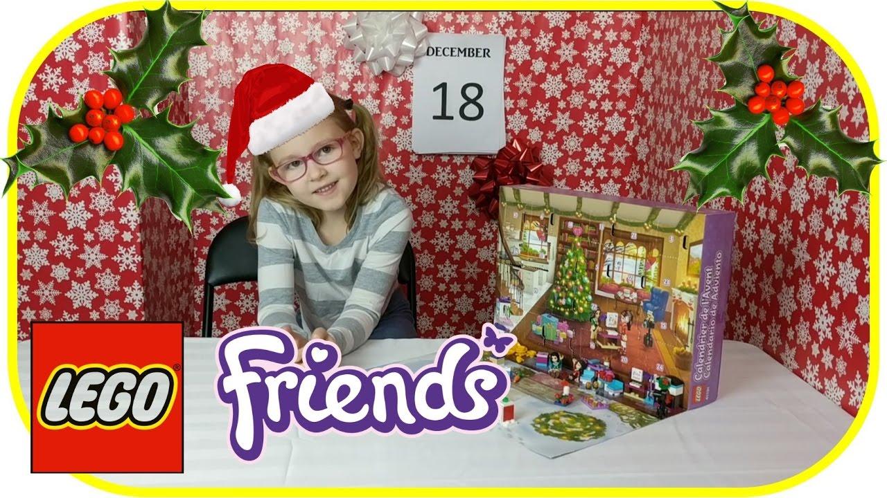 18 new lego friends advent calendar 2016 youtube. Black Bedroom Furniture Sets. Home Design Ideas