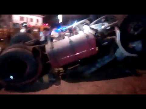 Accidente de tránsito en San Antonio - 18.02.2017