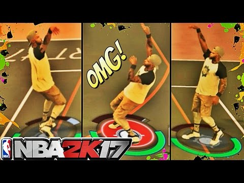 BEST MyPARK JUMPSHOT EVER CREATED! | DROPPED 16 ON HIS HEAD AT SUNSET BEACH | NBA 2K17 MyPark