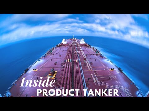 Inside The Bridge On A Product Tanker | Life at Sea | HD