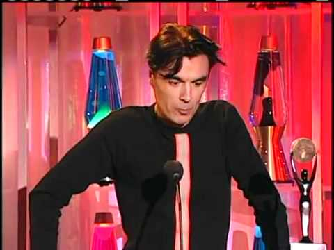 David Byrne Inducts David Bowie into the...