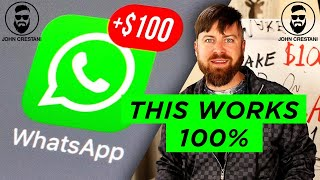 Make $100/Day From Whatsapp With This 1 Trick