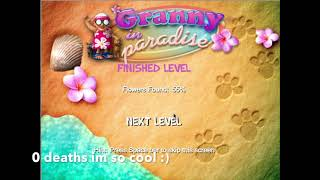 lets play granny in paradise