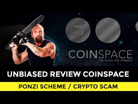 COINSPACE IS A PONZI SCHEME. S-COIN PONZI POINTS!