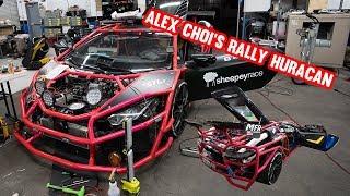 ALEX CHOI'S INSANE TWIN TURBO LAMBORGHINI BUILD *HURACAN VS GTR RACE*