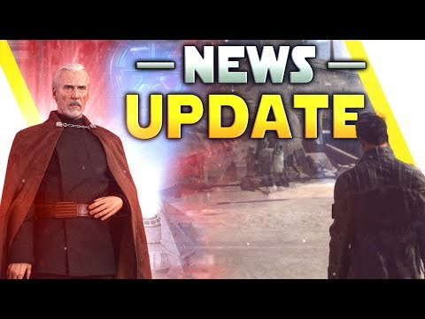NEWS UPDATE: Details On Cancelled & New Star Wars Games, Dooku, Large Scale Mode & More thumbnail