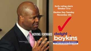 Houston City Council District D - Elect Dwight Boykins
