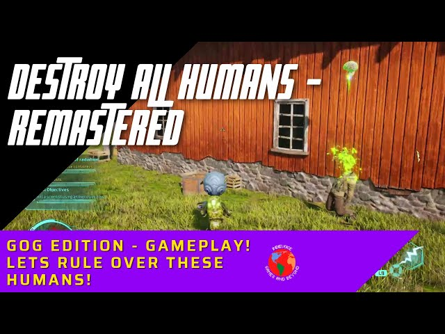 Destroy All Humans! EXCLUSIVE demo GOG Gameplay
