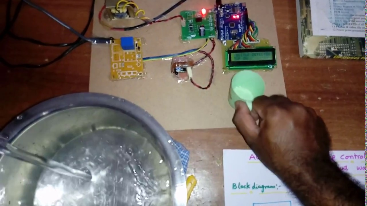 Automatic Public Tap Control System Using Ir Sensor To Prevent Simple Electronic Door Lock Circuit Diagram Circuits Wastage Of Water