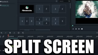 How to Use the SPLIT SCREEN Effect in Filmora 9 (2020)