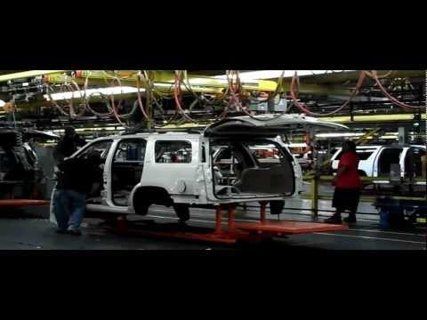 Tour inside the factory GM in Texas HD جولة داخل مصنع جنرال موتورز