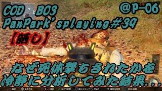 BO3#39【晒し】なぜ死体撃ちされたかを冷静に分析してみた結果   @P-06