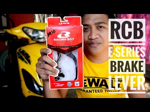 Yamaha Mio Sporty: Racing boy E-Series Brake Lever | RCB  Brake Lever | Vlog |