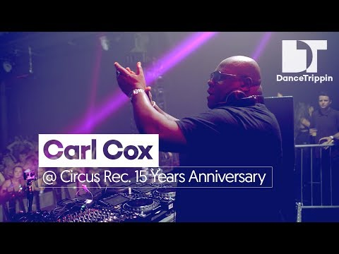 Carl Cox at Circus Records 15 Years Anniversary, Liverpool (UK)