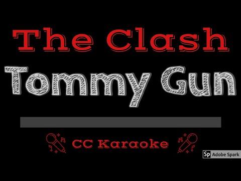 The Clash   Tommy Gun CC Karaoke Instrumental