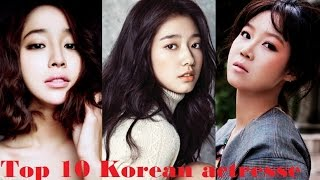 Top 10 Korean actresses according to the fans