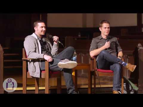 Nick Seluk and Matthew Inman @University Book Store - Seattle
