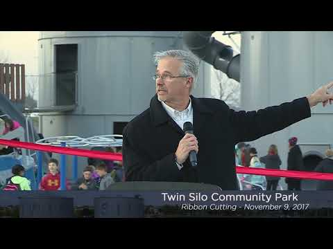 Twin Silo Ribbon Cutting - November 9, 2017