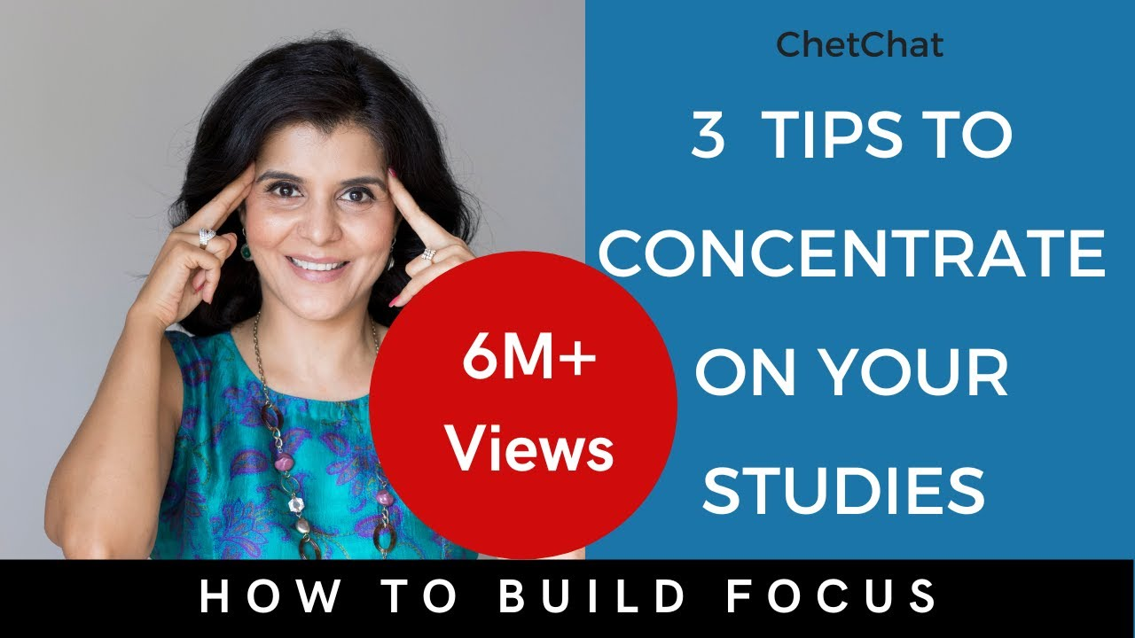 How To Concentrate On Studies For Long Hours | 3 Simple Tips to Focus On Studies | ChetChat