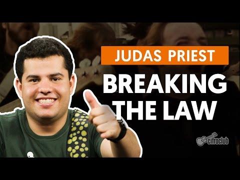 Breaking The Law - Judas Priest (aula de guitarra)