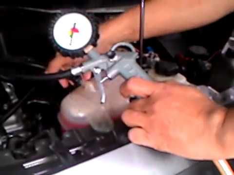 Test Tutup Coolant Chevrolet Spin Youtube