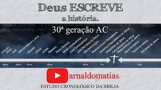 Estudo Bíblico Cronológico 30ª geração AC