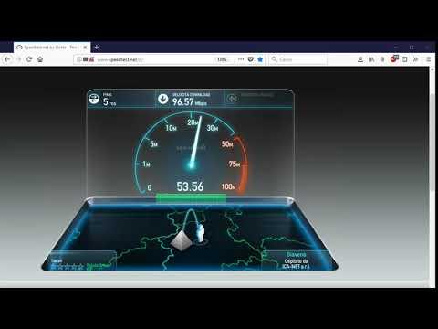 Speedtest Tiscali Fibra FTTH 100 mega Torino