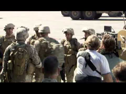 Behind the scenes Part 1 - World Invasion Battle Los Angeles poster