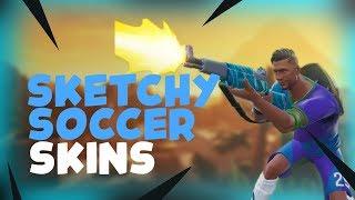 Fortnte 7.40 update video, fortnite Soccer Skin gameplay.