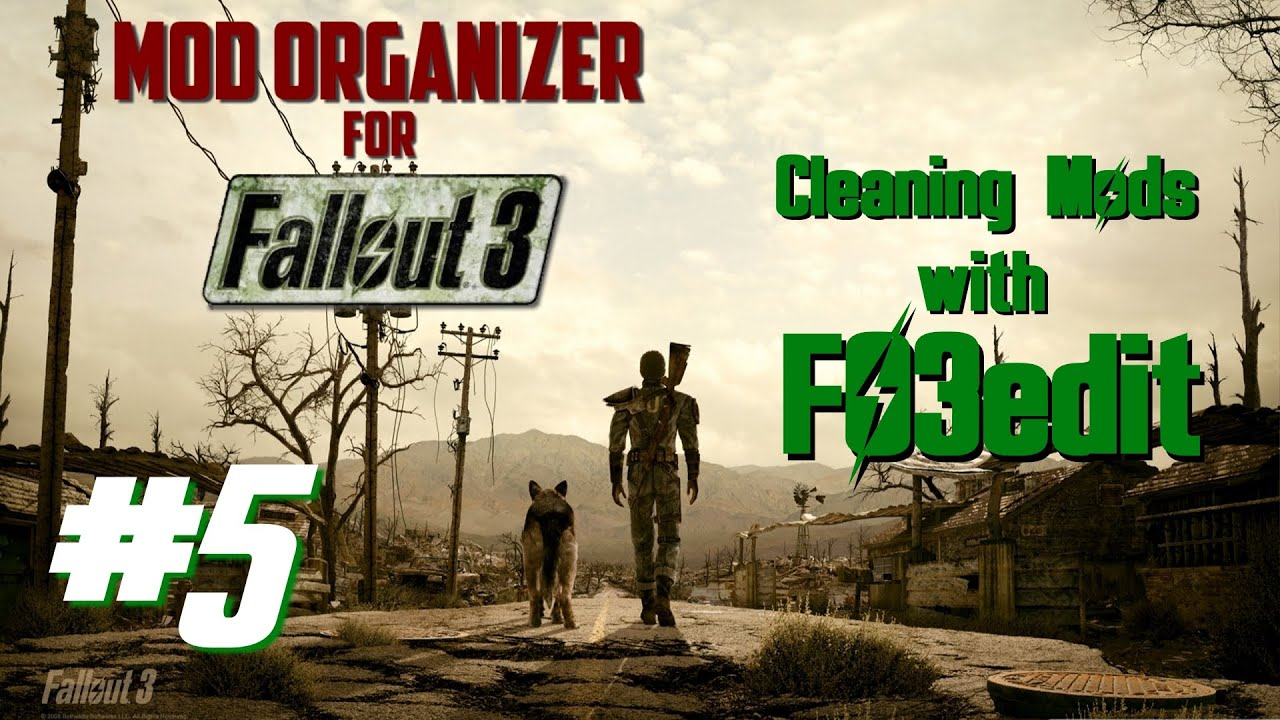 how to clean with fo3edit