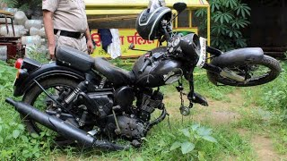 Top 10 : ROYAL ENFIELD 350, HIMALAYAN, GT 650, THUNDERBIRD Crashes In India ! ! !