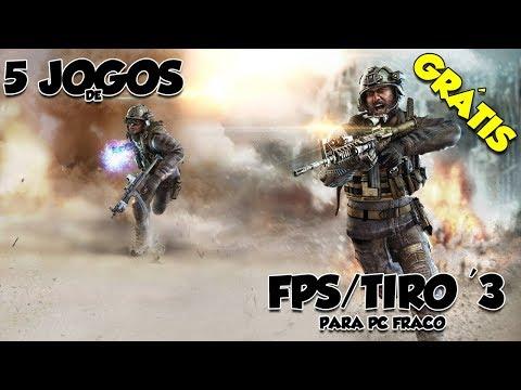 5 Jogos De FPS/Tiro Grátis Online Para Pc Fraco '3 (Download) |Pc Fraco
