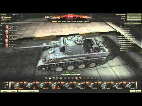 Historical Overview of German Vehicles using World of Tanks Garage