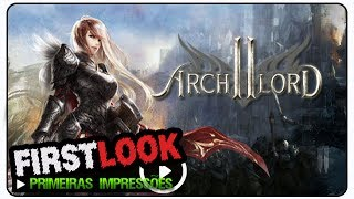 Archlord 2 gameplay - First Look / Primeiras Impressões