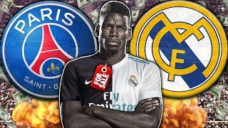 Manchester United Ready To Sell Paul Pogba To Real Madrid or PSG?! | Transfer Talk