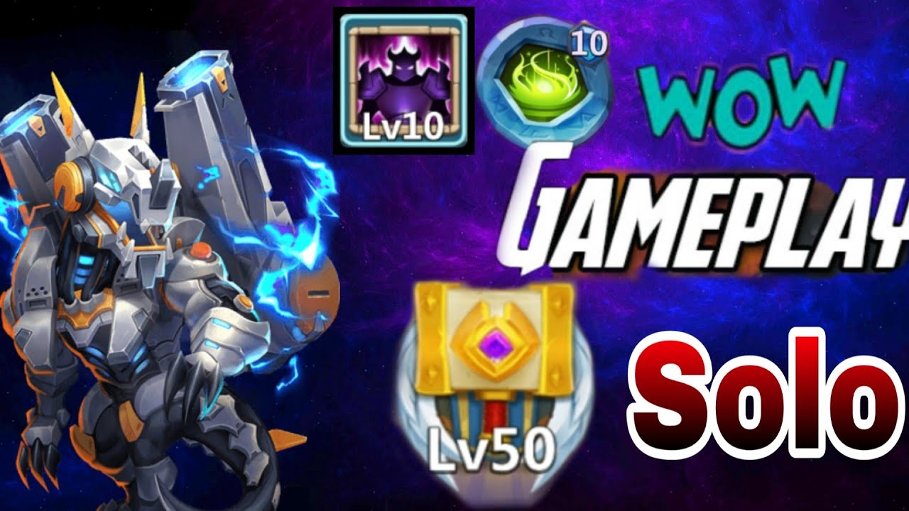 Dynamica | Fully Maxed | 50 Relic Level | One man Army | Solo Gameplay | Castle clash